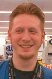 smiling at work